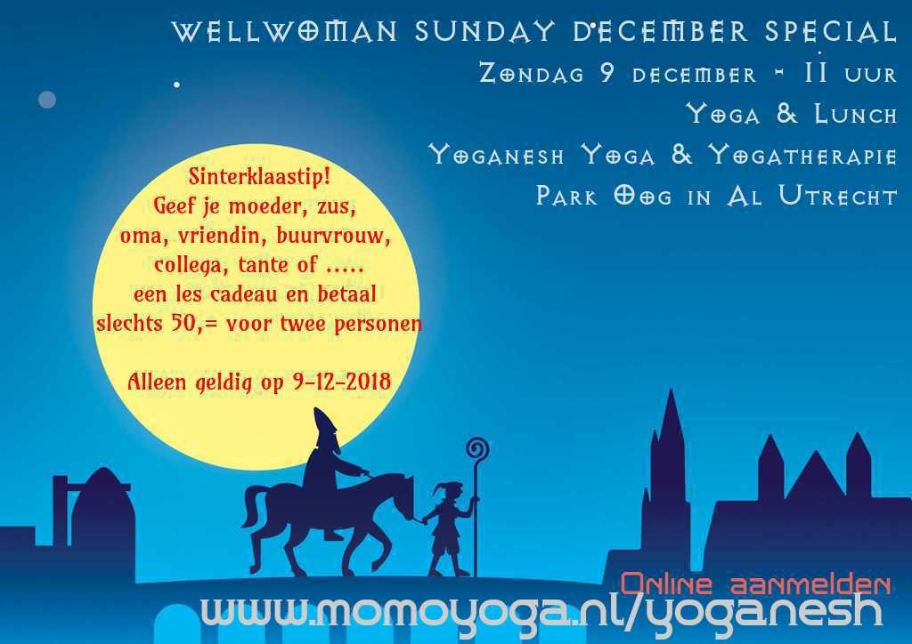 WellWoman Sunday December Special 9-12-2018